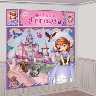 ディズニー(Disney)の新品ディズニープリンセスソフィアウォールデコレーションキット SOFIA(その他)