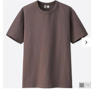 ユニクロ(UNIQLO)の【yfさま用】UNIQLOユーTシャツ メンズSサイズ パープル(Tシャツ/カットソー(半袖/袖なし))