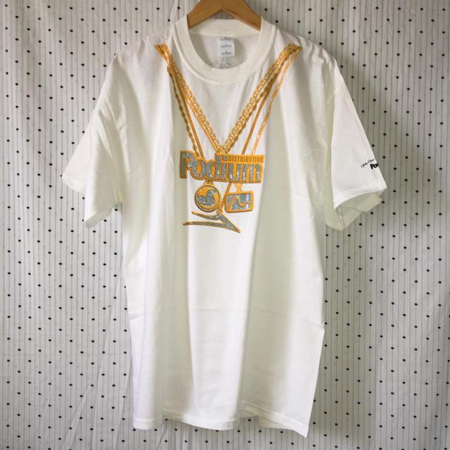 DVS(ディーブイエス)のポデュームDVS LAKAI MATIXスケートUS限定非売品メダルTシャツXL スポーツ/アウトドアのスポーツ/アウトドア その他(スケートボード)の商品写真