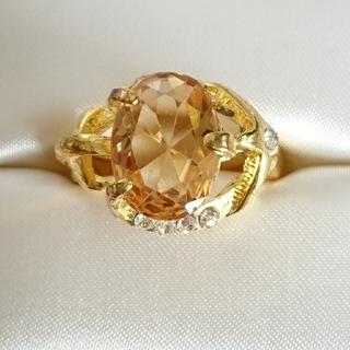 新品未使用 美品 リング 指輪 オシャレなデザイン 女性用 サイズ21号 40(リング(指輪))