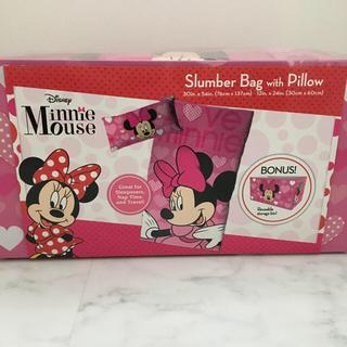 ディズニー(Disney)のディズニー・ミニーちゃん寝袋&枕セット(布団)