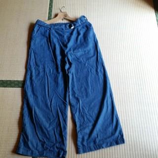 シマムラ(しまむら)のワイドパンツ紺(その他)