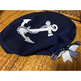 トゥアリス(To Alice)のToAlice イカリ刺繍ベレー帽(ハンチング/ベレー帽)