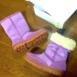 新品箱有定価¥8295厚底ムートンブーツ(ブーツ)