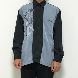 GIANNI VALENTINO - vintage shirt M 刺繍