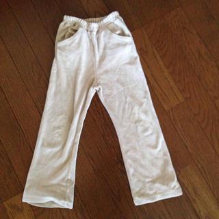 シャマ(shama)の子供服 長ズボン パンツ ベージュ 110 (パンツ/スパッツ)
