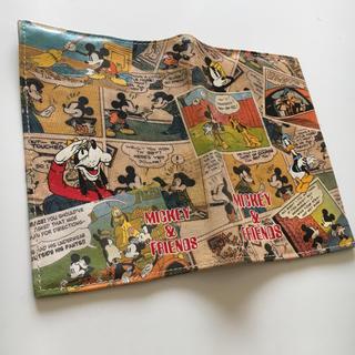 ディズニー(Disney)のミッキーの手帳・ブックカバー(ブックカバー)