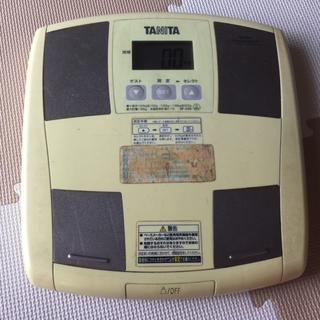 タニタ(TANITA)の体重計・体脂肪率計測機能付き TANITA(その他)