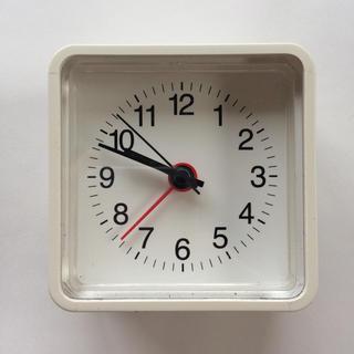 ムジルシリョウヒン(MUJI (無印良品))の無印良品 コンパクトアラームクロック(置時計)