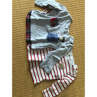 キムラタン(キムラタン)のピッコロ  80 長袖(Tシャツ)