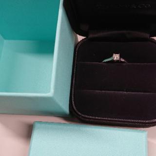 ティファニー(Tiffany & Co.)の最終値下げティファニールシダPt950 9号0,28(リング(指輪))