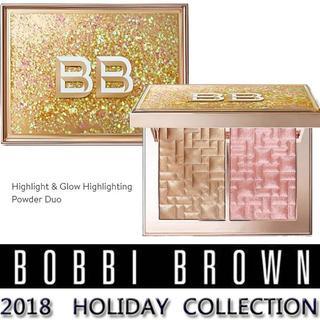 ボビイブラウン(BOBBI BROWN)の◆BOBBI BROWN◆2018ホリデーコレクションハイライトパウダー2色(フェイスカラー)