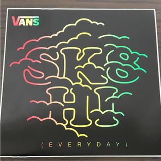 ヴァンズ(VANS)の【縦9cm 横9cm 】VANSステッカー sk8(ステッカー)