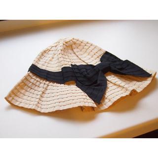 ジーユー(GU)のGU リボン帽子(麦わら帽子/ストローハット)