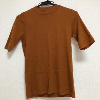 ユニクロ(UNIQLO)のリブハイネックT(5分袖)*UNIQLO(Tシャツ(長袖/七分))