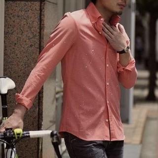 エイケイエム(AKM)の定価34560円 AKM BDオックスフォードドレスシャツ wjkジュンハシモト(シャツ)