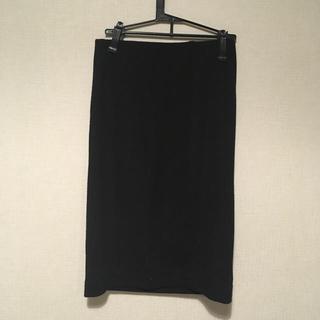 トゥエルブアジェンダ(12Twelve Agenda)の黒 ニット タイトスカート(ひざ丈スカート)