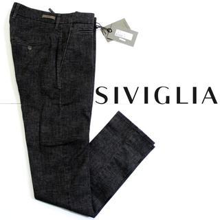シビリア(SIVIGLIA)のきっくぼーや様専用新品 SIVIGLIA ストレッチカジュアルパンツ グレー(チノパン)