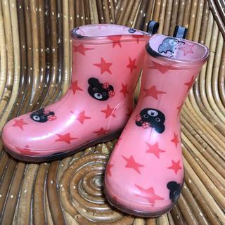 ダブルビー(DOUBLE.B)の【専用】ダブルビー 長靴 レインシューズ 13cm(長靴/レインシューズ)