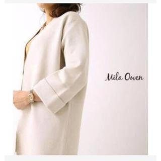 ミラオーウェン(Mila Owen)のMila owen  ロングニットコート(ロングコート)