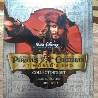 ディズニー(Disney)のパイレーツオブカリビアン ワールドエンド 限定版DVD コレクターズセット(外国映画)