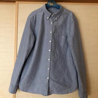 ムジルシリョウヒン(MUJI (無印良品))の無印良品MUJIオックスフォードボタンダウンシャツ(シャツ/ブラウス(長袖/七分))