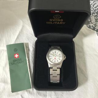 スイスミリタリー(SWISS MILITARY)のSWISS MILITARY 腕時計(腕時計)