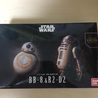 バンダイ(BANDAI)のSTARWARS  R2-D2&BB-8 プラモデル(SF/ファンタジー/ホラー)