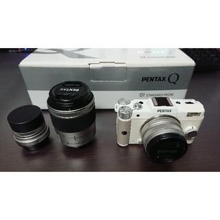 ペンタックス(PENTAX)のPENTAX Q 01、03、06レンズセット(ミラーレス一眼)