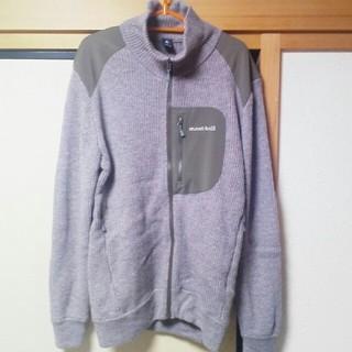モンベル(mont bell)のmont-bell ミッテルレギ フルジップ セーター MEN' Mサイズ(ニット/セーター)