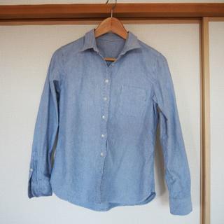 ムジルシリョウヒン(MUJI (無印良品))の美品 無印良品 オックスフォードシャツ М(シャツ/ブラウス(長袖/七分))
