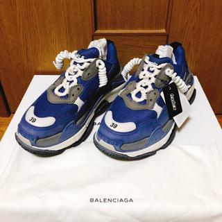 バレンシアガ(Balenciaga)の新品 阪急メンズ購入 バレンシアガ トリプルS 39 balenciaga (スニーカー)