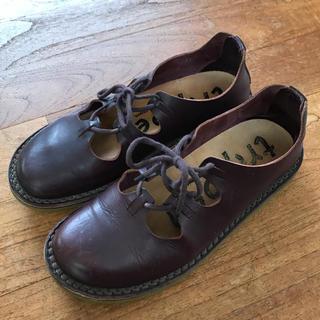 トリッペン(trippen)のtrippen パープル 37サイズ(ローファー/革靴)