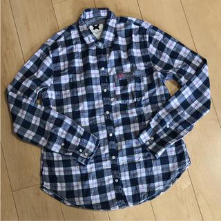 ギリーヒックス(Gilly Hicks)のGILLY HICKS 長袖 チェックシャツ  S(シャツ/ブラウス(長袖/七分))