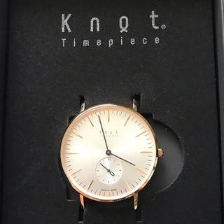 ノット(KNOT)の値下げしました 試着のみ Knot 腕時計(腕時計(アナログ))