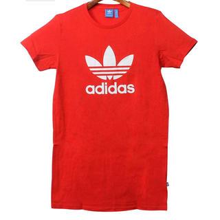 アディダス(adidas)のアディダスオリジナルスTシャツワンピース(ミニワンピース)