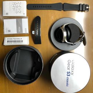 サムスン(SAMSUNG)のGalaxy Gear S3 Classic (腕時計(デジタル))