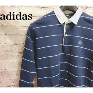 アディダス(adidas)のadidas アディダス ラガーシャツ ポロシャツ(ポロシャツ)