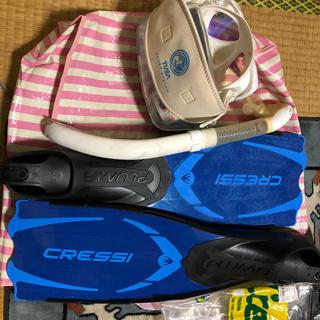 クレッシーサブ(CRESSI-SUB)のシュノーケル セット(マリン/スイミング)