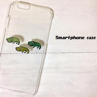 ワニ  スマホケース  iPhone7  全機種対応(スマホケース)