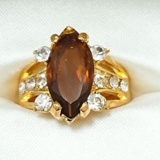 新品未使用 美品 リング 指輪 オシャレなデザイン 女性用 サイズ19号 46(リング(指輪))