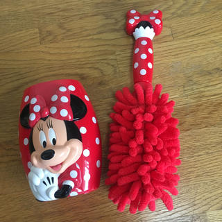 Disney - ミニーちゃんの掃除用品