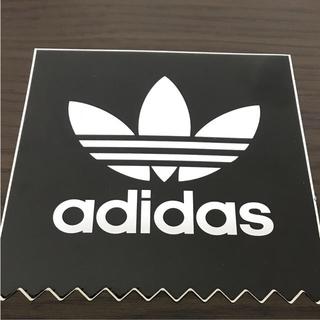 アディダス(adidas)の【縦12cm横11.5cm】adidas  skateboardステッカー中(ステッカー)