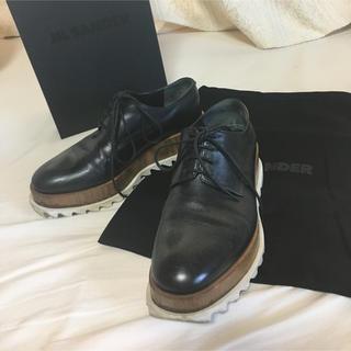 ジルサンダー(Jil Sander)のss様専用ジルサンダー  JIL SANDER プラット シューズ (ローファー/革靴)