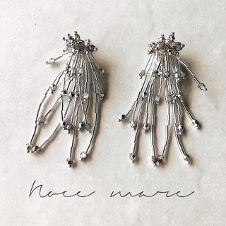 ねねね様専用 -silver shower- イヤリング変更(イヤリング)
