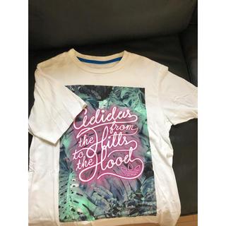 アディダス(adidas)の美品 adidas Tシャツ (Tシャツ/カットソー(半袖/袖なし))