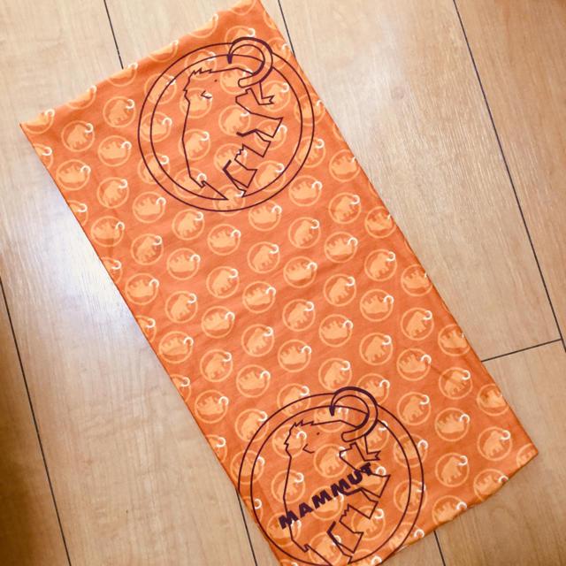 Mammut(マムート)のマムート ネックゲイター スポーツ/アウトドアのアウトドア(登山用品)の商品写真