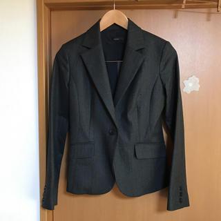 チュウチュ(ciu ciu)のジャケット新品未使用ダークグレーレディース日本製ciu ciu(テーラードジャケット)