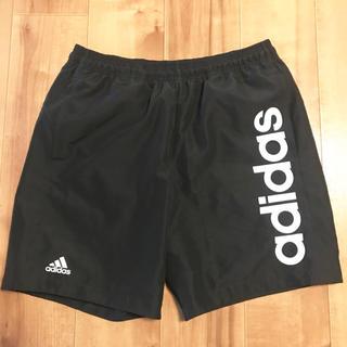 アディダス(adidas)の★未使用★adidas ハーフパンツ Oサイズ メンズ 黒 XL LL (ショートパンツ)