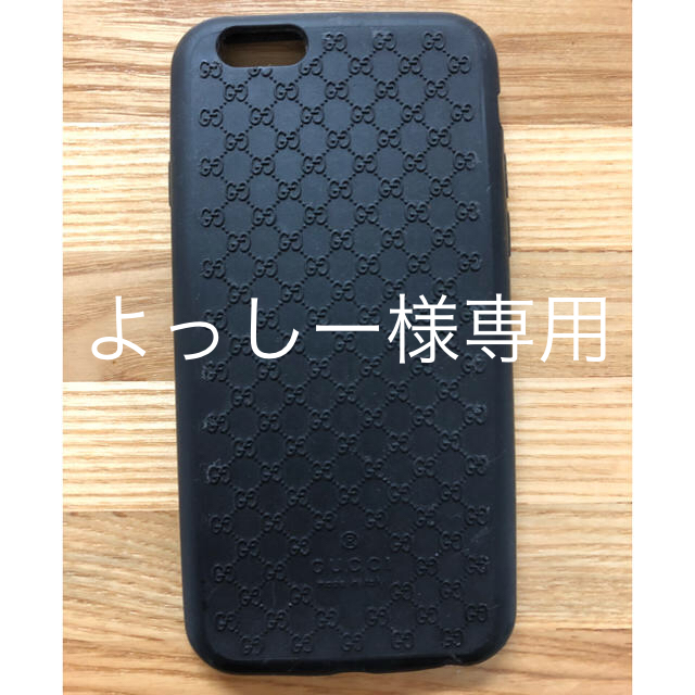 Gucci - iPhone6Sケースの通販 by mayu's shop|グッチならラクマ